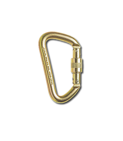 DMM Steel offset D (12mm) carabiner