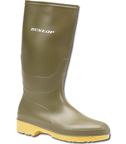 Dunlop Dull Youths Wellingtons